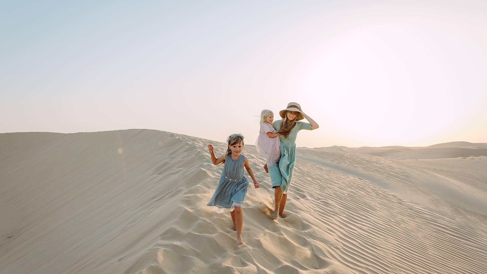 Beréberes, desiertos y oasis en familia