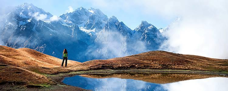 Trekking en Kazbegui y Mestia