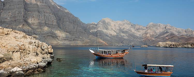 Echappée dans les Fjords de Musandam