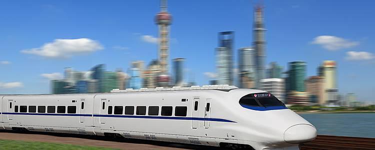 Mit der Eisenbahn durch China