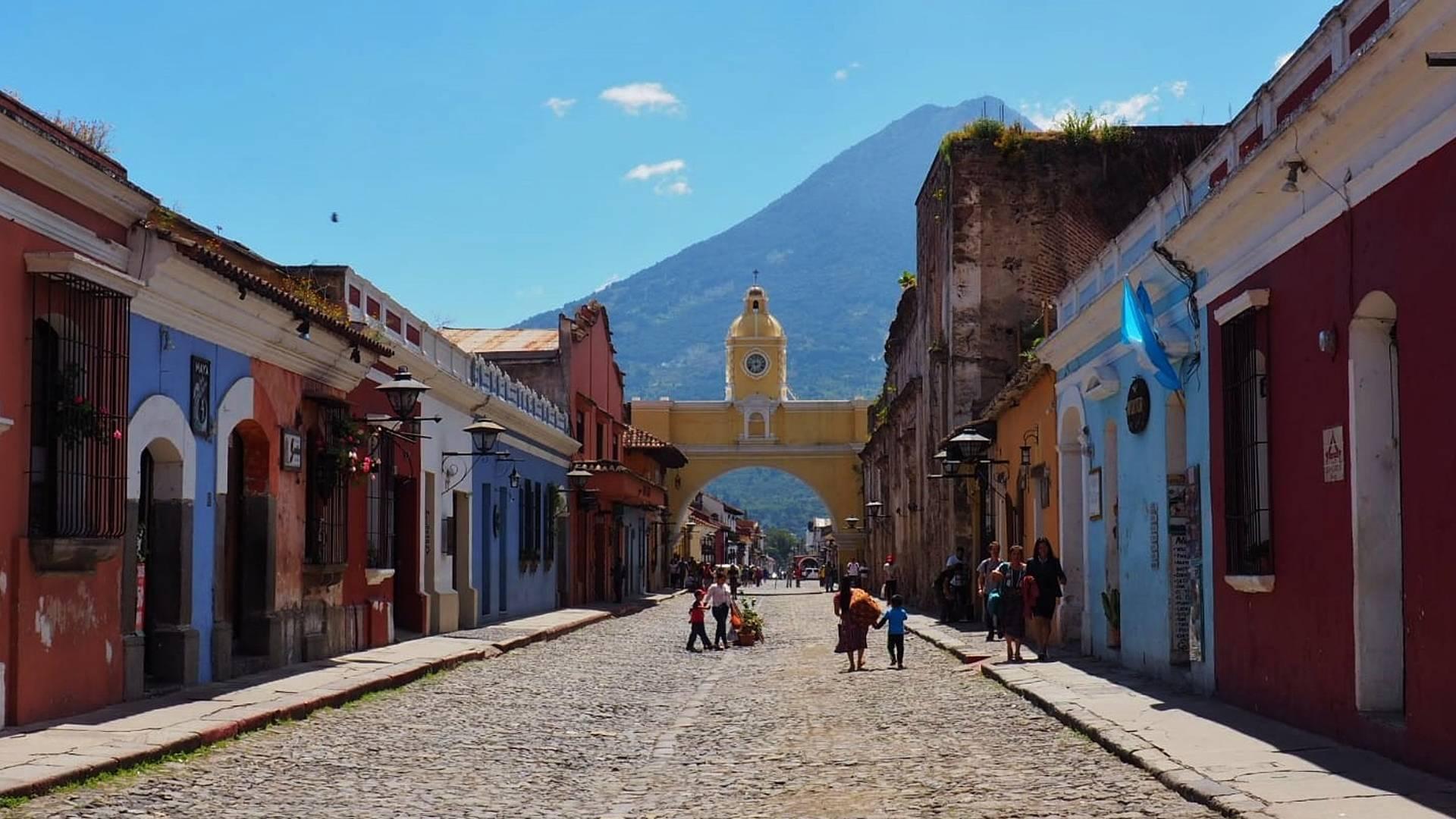 Combiné Guatemala, Honduras et Belize