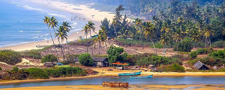La tierra de Rajasthan y las playas de Goa