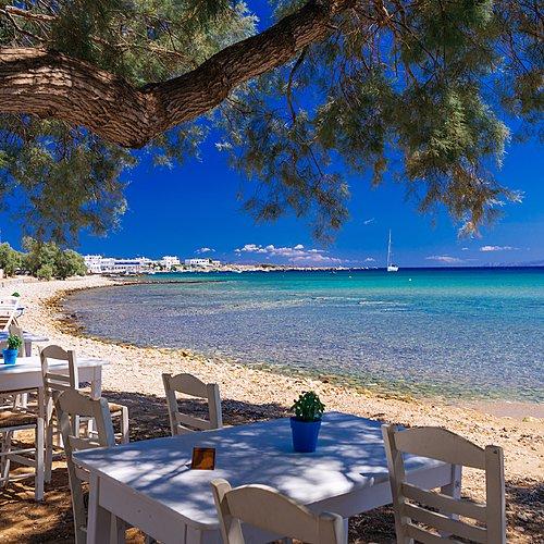 Rêveries dans les Cyclades depuis l'île de Paros -