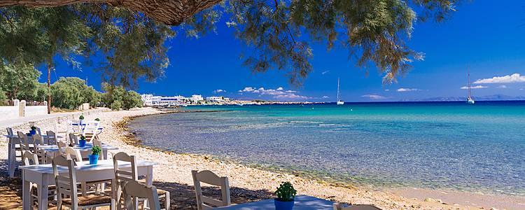 Rêveries dans les Cyclades depuis l'île de Paros