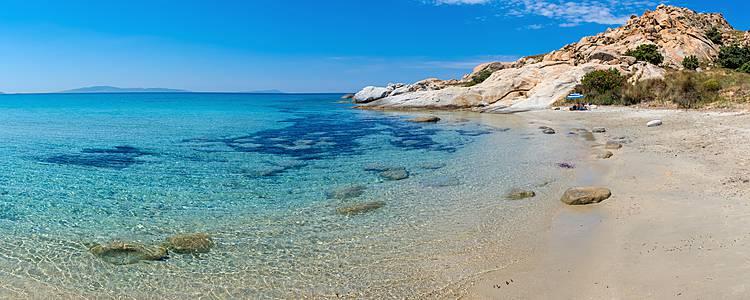 MosaïqueCycladique : Santorin, Paros, Naxos et Folegandros
