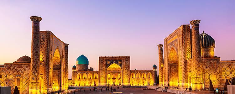 Tesoros de Bujará, Samarcanda y Tashkent