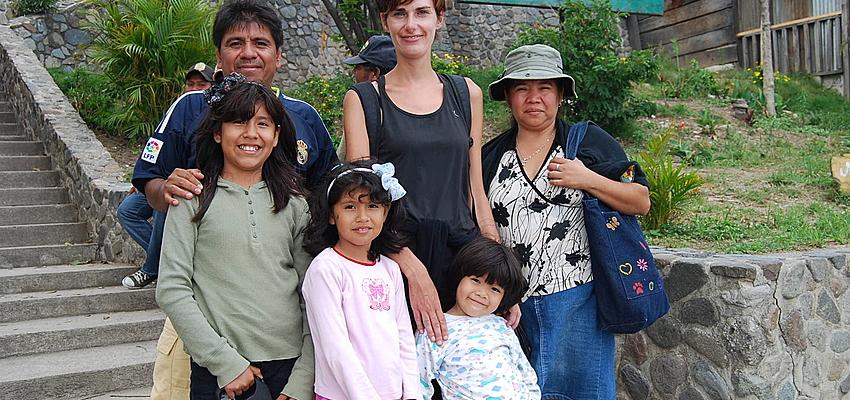 Rencontre avec une famille Guatémaltèque