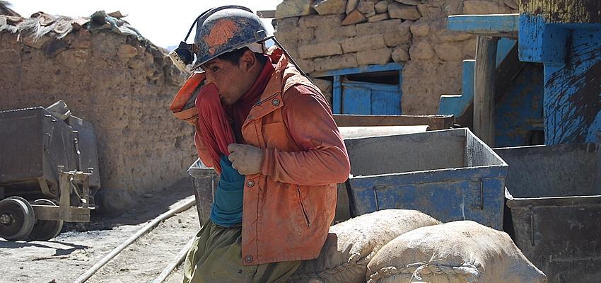 Minero en Potosí