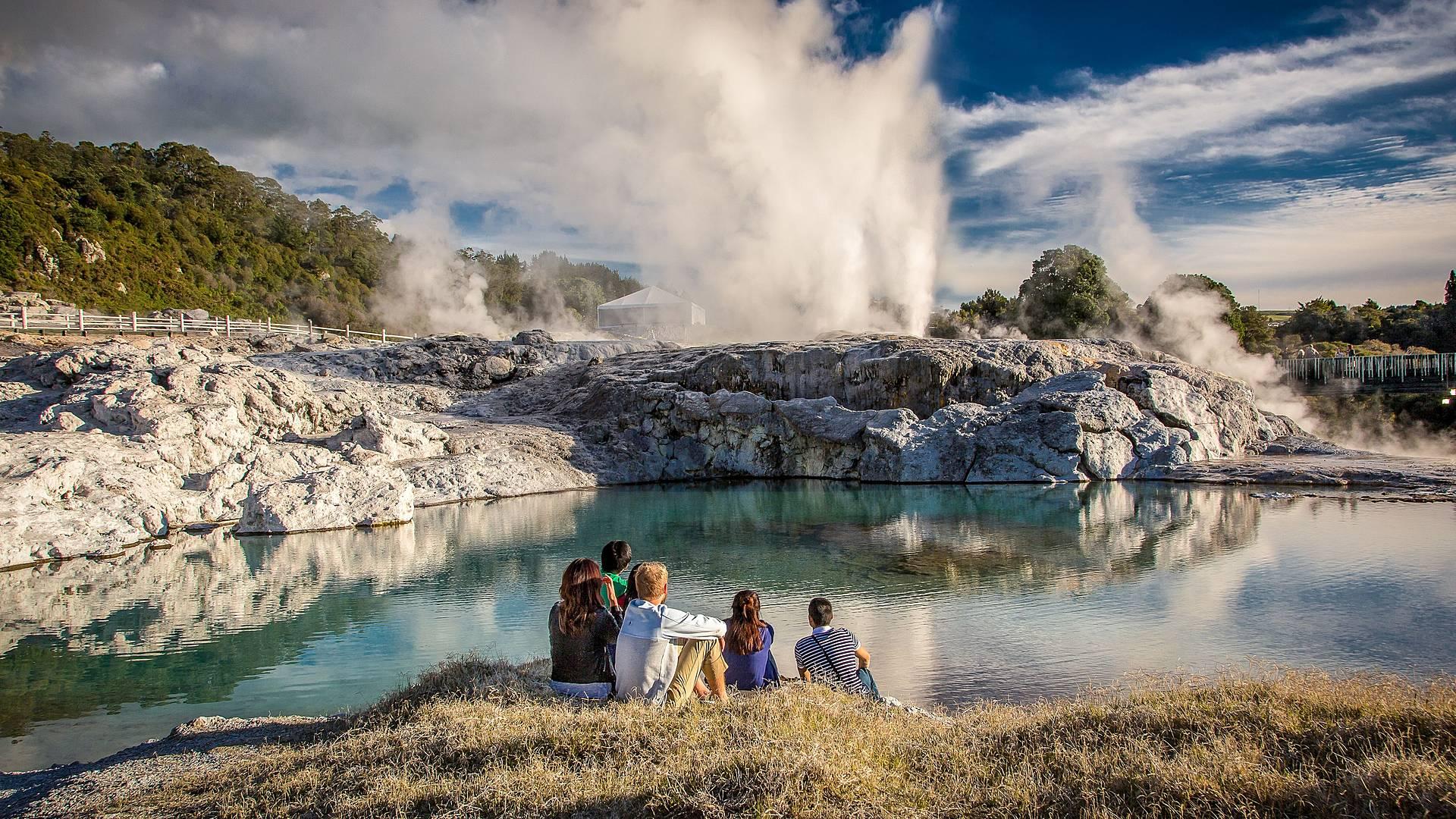 Natur hautnah erleben - Auckland - Christchurch
