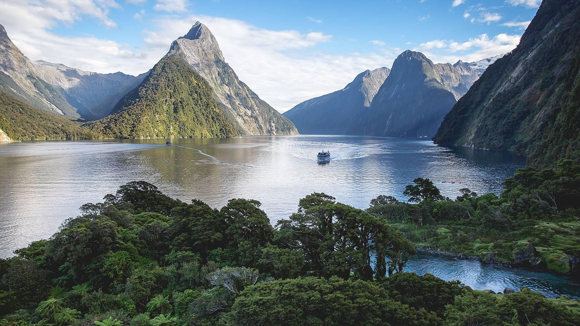 Christchurch - Auckland durch atemberaubende Natur
