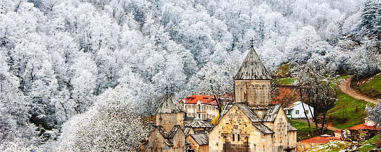 Winter along Armenia's Silk Road