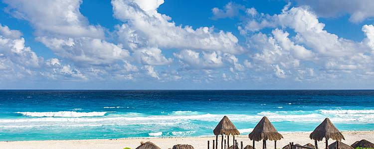 Luxury beaches, and Mayan ruins