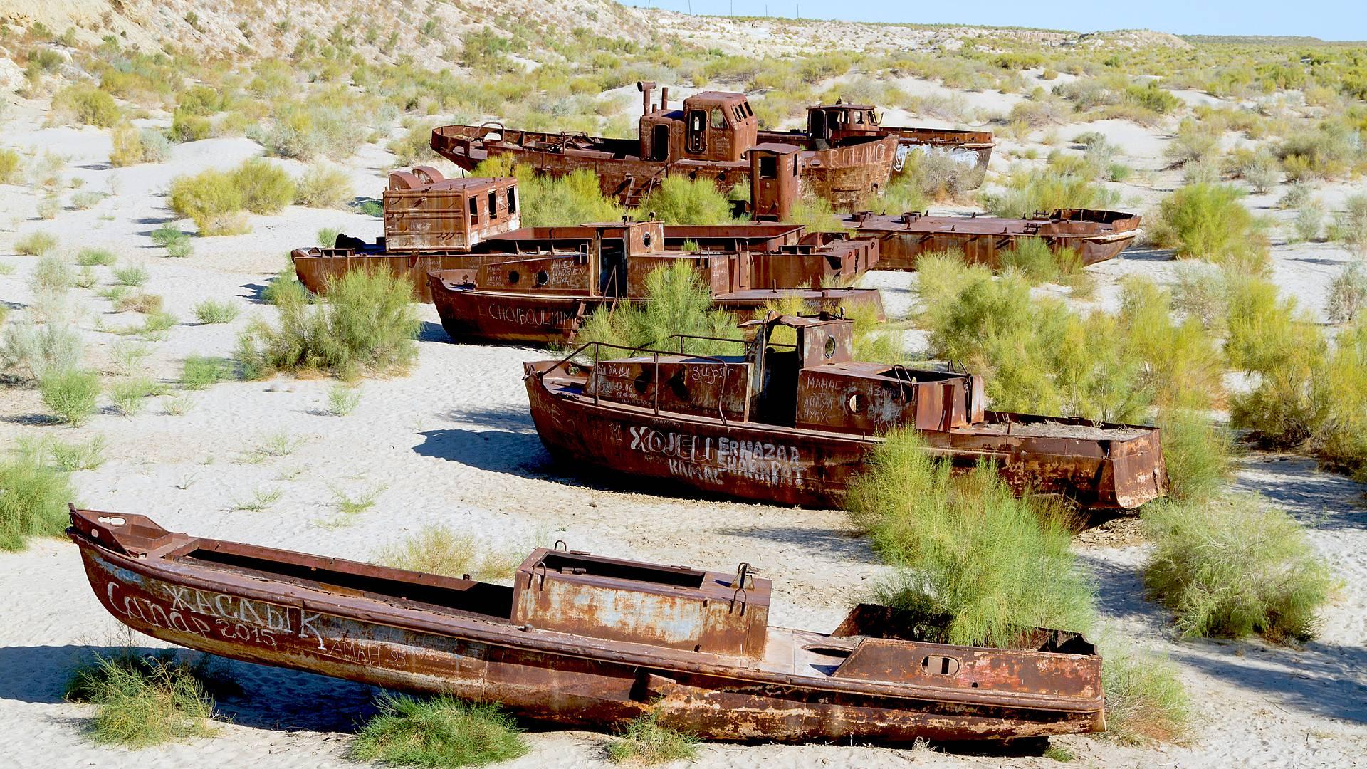 Aprendizajes por la Ruta de la Seda y el Mar de Aral