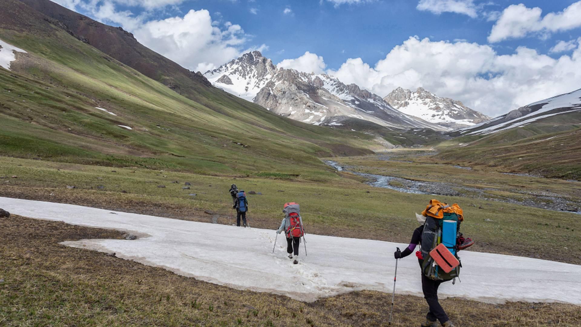Wanderung zu den himmlischen Bergen