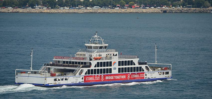 Ferry en Estambul