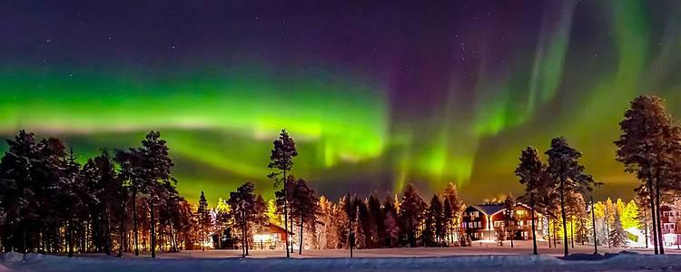Polarlicht-Abenteuer - Von Lappland nach Helsinki