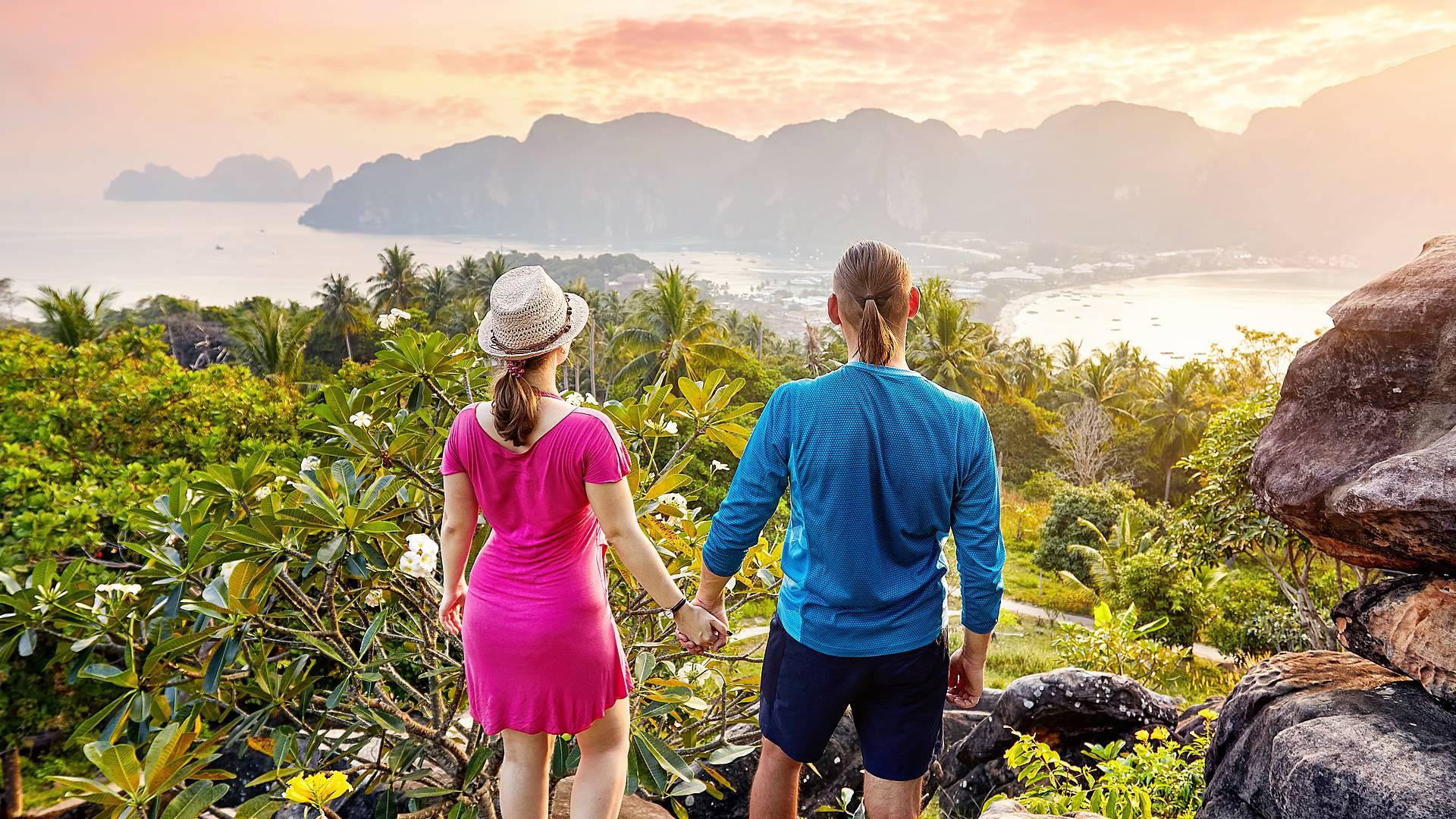 Paraíso en pareja hasta la isla de Phi Phi