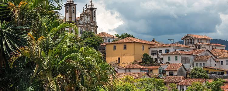 Les richesses de l'âge d'or colonial dans la région du Minas Gerais