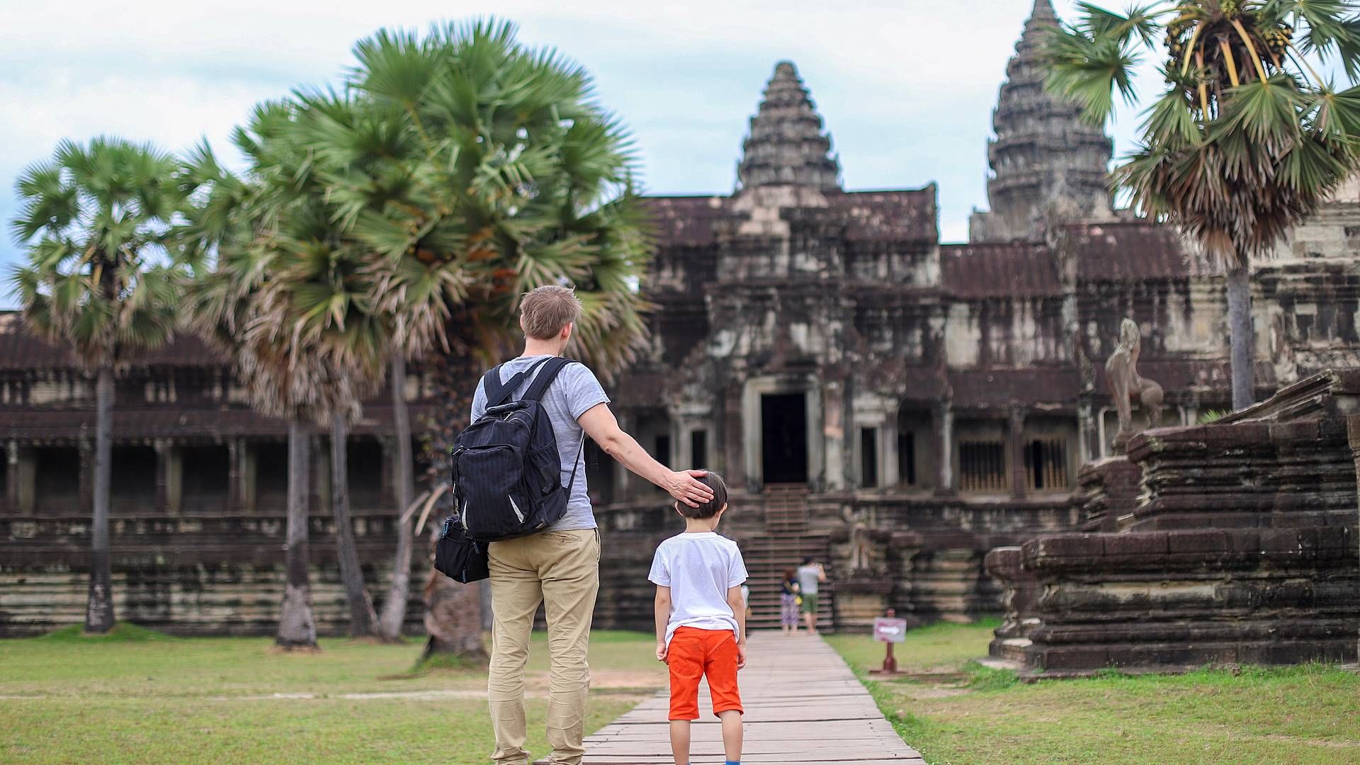 Strabiliante Bangkok e Cambogia in famiglia