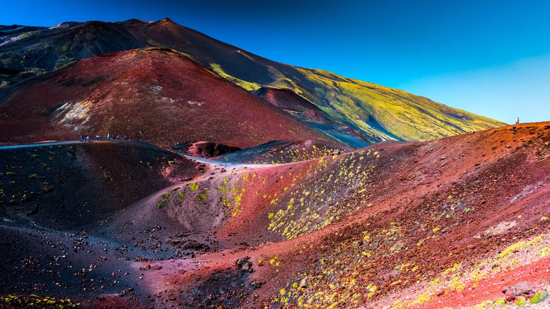 Vulkantrekking auf dem Ätna und den Äolischen Inseln