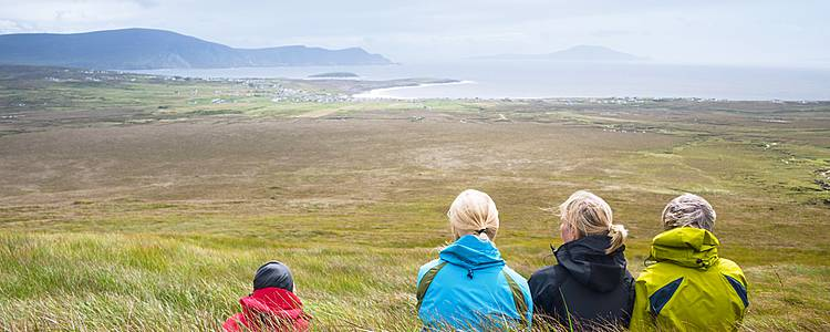 The Emerald Isle for families