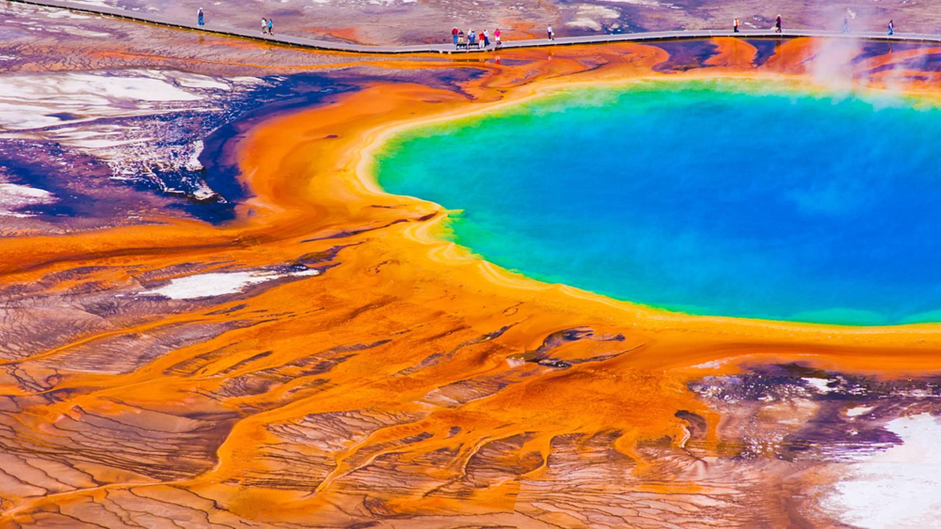 Yellowstone Nationalpark Tour