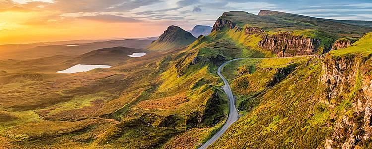 Von den Highlands, über die Insel Skye nach Edinburgh