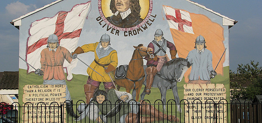 Peinture murale en Irlande du Nord