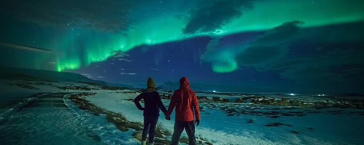 Escape to Icelands Northern Lights