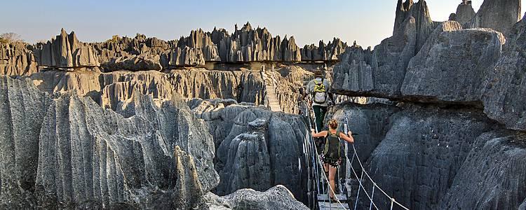 Abenteuerreise zu den Tsingy von Bemaraha