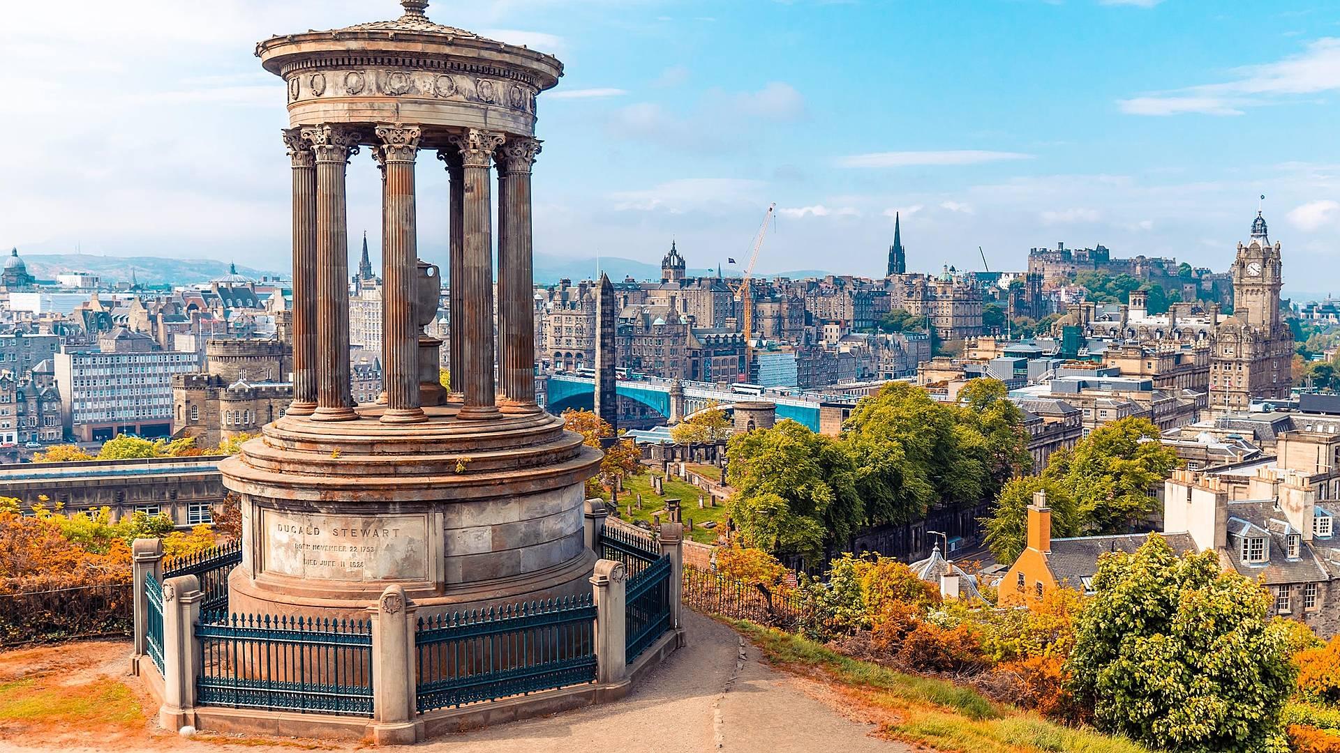 England and Scotland for honeymooners