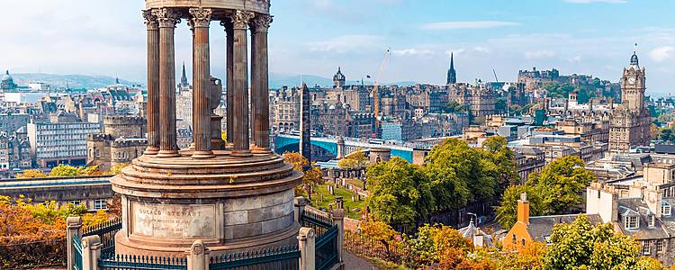 England and Scotland for honeymooners