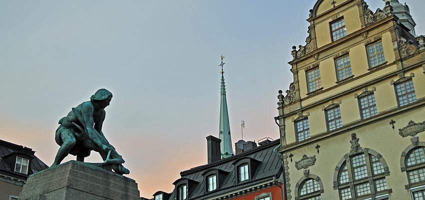 Estocolmo, cara pero impresionante.