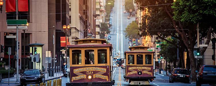 Entdecken Sie die berühmten Metropolen der Westküste