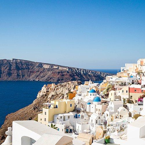 Athènes et Santorin -