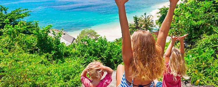 Mit der Familie Bali entdecken