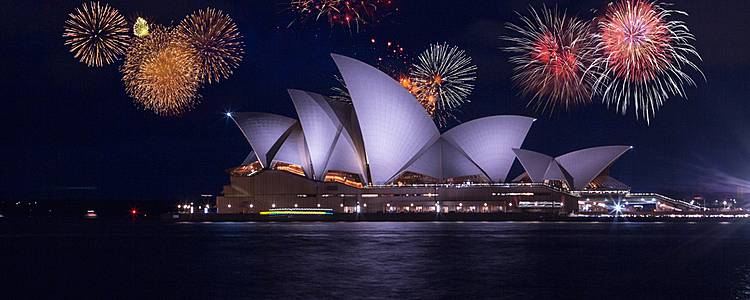 New Year's Celebration in Sydney