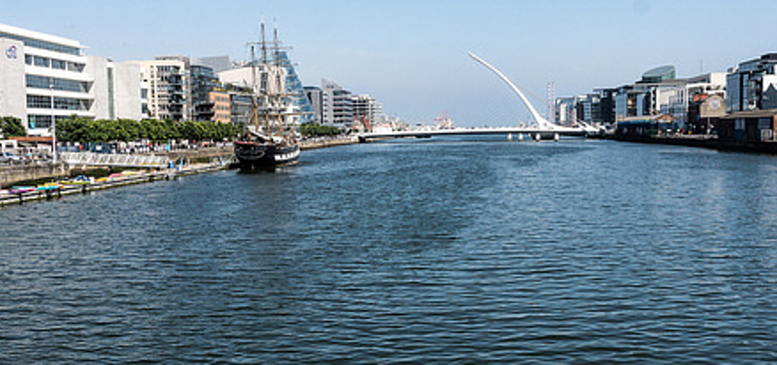 Les docks de Dublin