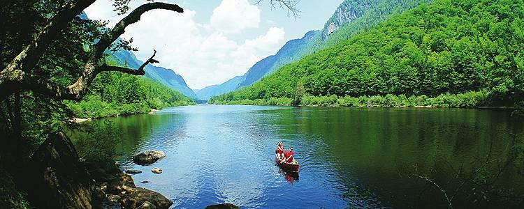 Nature et plein air comme un Québecois