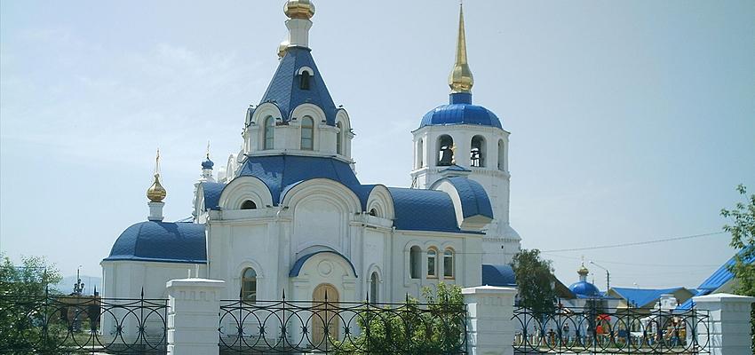 Catedral Odiguitrievski que albergaba un museo antirreligioso