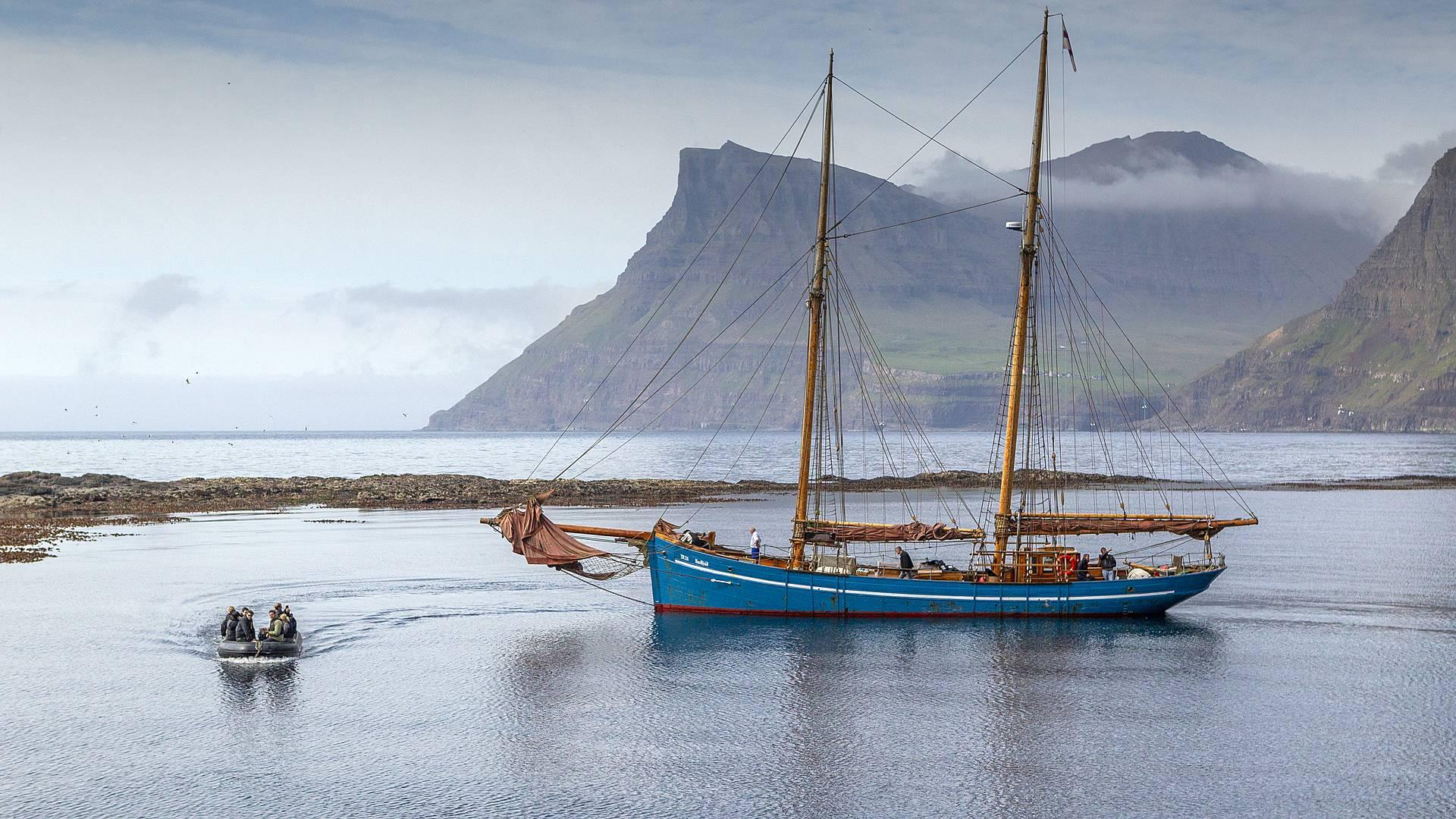 Trekking y Navegación por las Islas Feroe