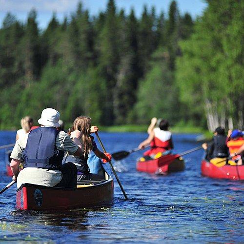 Un été finlandais en famille -