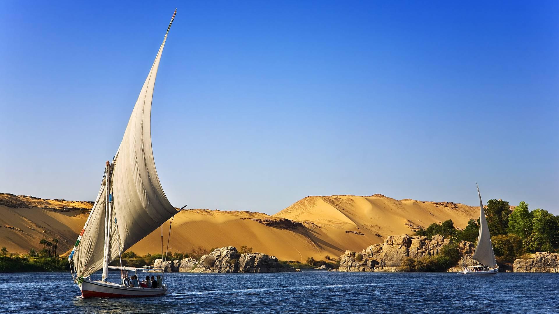 Esencia egipcia y crucero por el Nilo