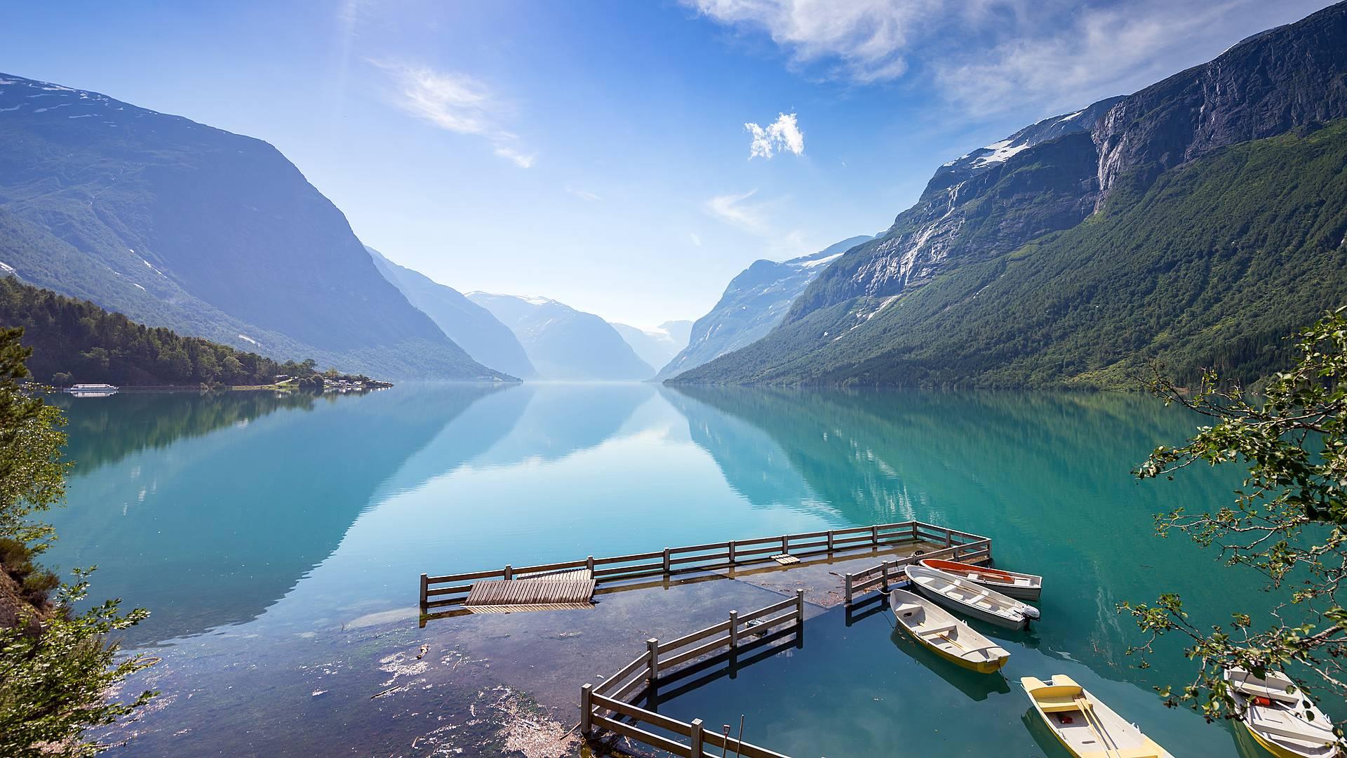 Tour complet des fjords norvégiens