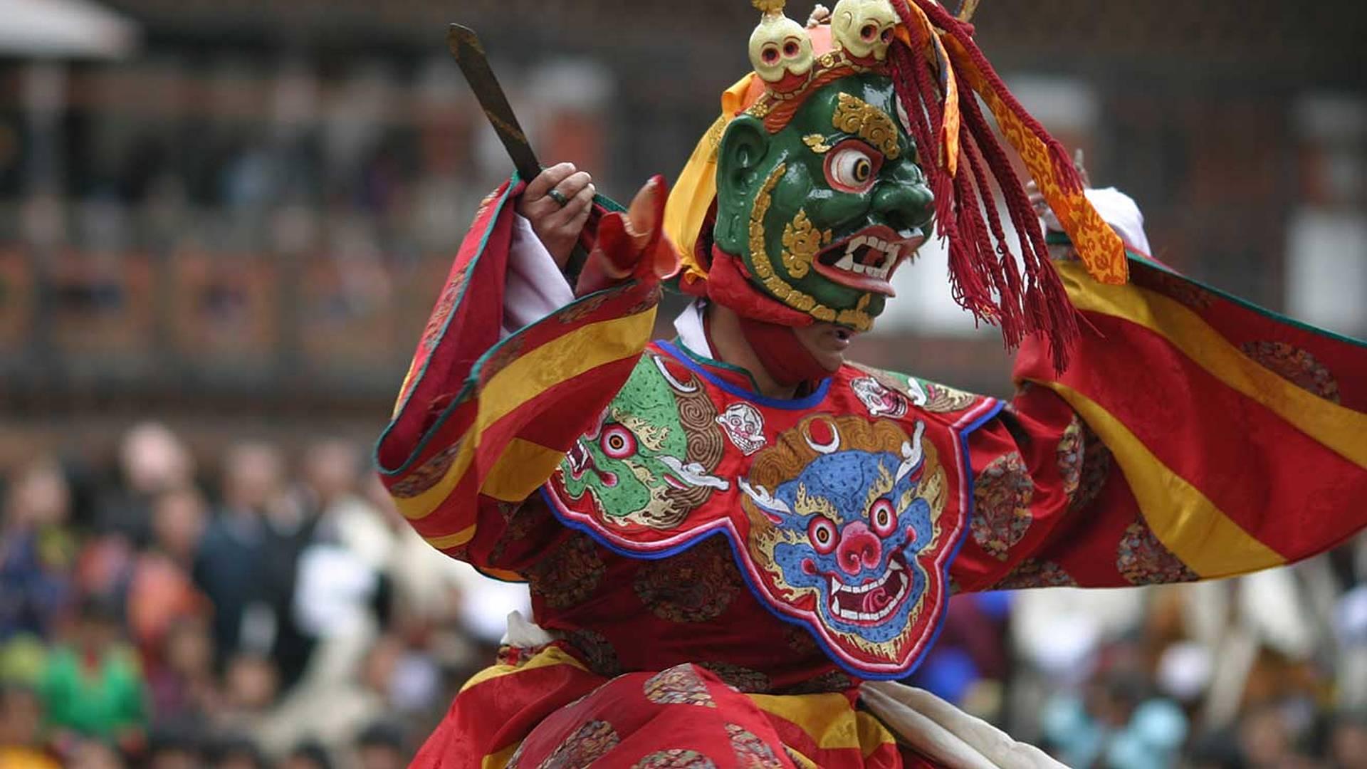 Nepal e Bhutan per il festival Tshechu di Thimphu