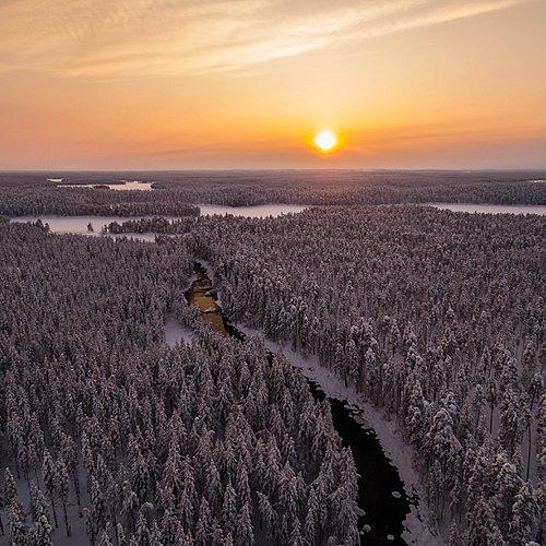 La Finlande grandeur nature, en petit groupe -