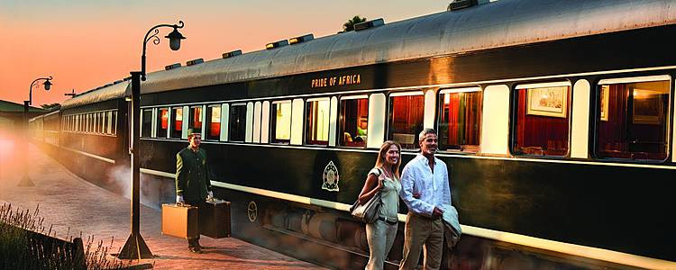Train safari for honeymooners