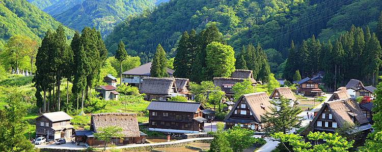 Culture and legends of Japan's mountain villages