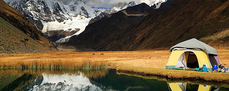 Hiking the Andean Mountains