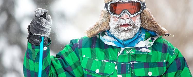 Winter hiking adventure of Norway